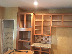 Before Custom Kitchen Cabinets